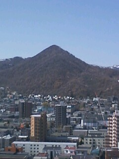 northland今日の三角山
