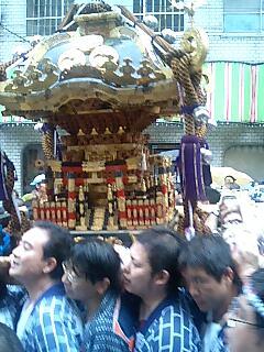 日枝神社のお祭り
