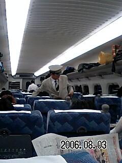 deai新幹線で壇先生に遭遇