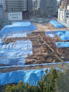 research京の都の遺跡調査