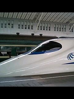 chinaの新幹線