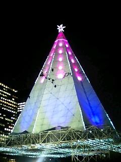 日比谷公園光のXmasタワー