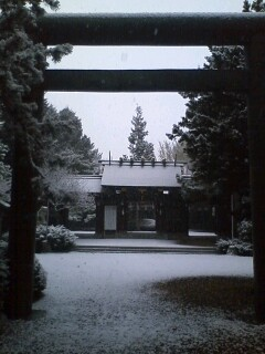 northland雪の琴似神社